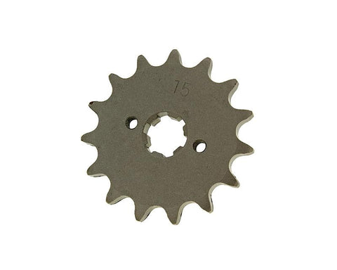 front sprocket 420 - 15 teeth for Derbi EBE, EBS