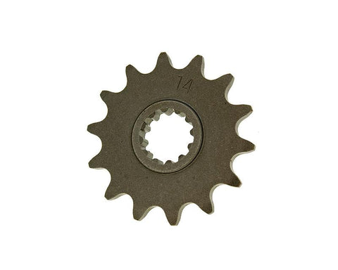front sprocket 14 tooth 415 for Minarelli AM (95-05) 17mm pinion shaft