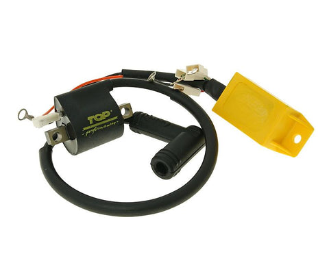 CDI unit with ignition coil Top Performances for Piaggio, Gilera, Italjet