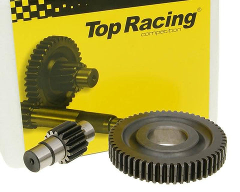 secondary transmission gear up kit Top Racing +13% 15/55 for Piaggio Liberty 2-stroke
