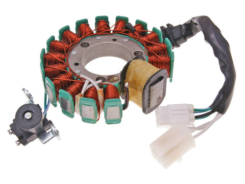 alternator stator for 125cc Yamaha Majesty, MBK Skyliner (-09)