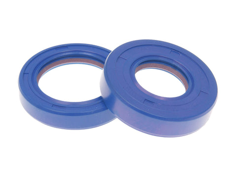 oil seal kit crankshaft Polini FKM/PTFE for Minarelli AM6, Generic, KSR-Moto, Keeway, Motobi, Ride, CPI, 1E40MA, 1E40MB
