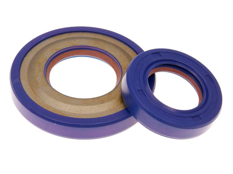 oil seal kit crankshaft Polini FKM/PTFE for 19mm for Vespa PK 50, 125, XL 50, 125, 125 Primavera 2T, ETS 125