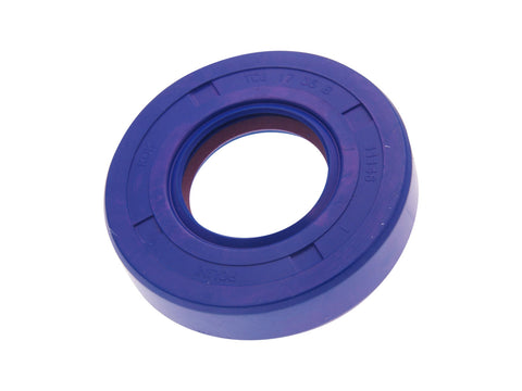 shaft seal crankshaft Polini FKM/PTFE 17x35x8mm for Minarelli AM6, Generic, KSR-Moto, Keeway, Motobi, Ride, CPI, 1E40MA, 1E40MB