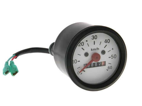 speedometer up to 60km/h round shape 60mm for Tomos A35