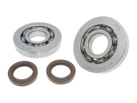 crankshaft bearing set Viton for Gilera Runner, Piaggio Hexagon, Italjet Dragster 125, 180cc