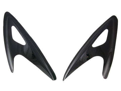 headlight panel / headlamp mask MTKT black for SYM Euro-Jet
