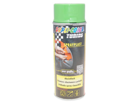 strippable lacquer Dupli-Color Sprayplast green glossy 400ml