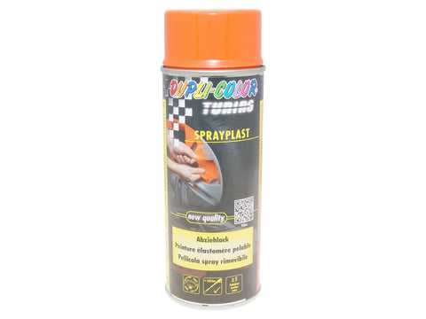 strippable lacquer Dupli-Color Sprayplast orange glossy 400ml