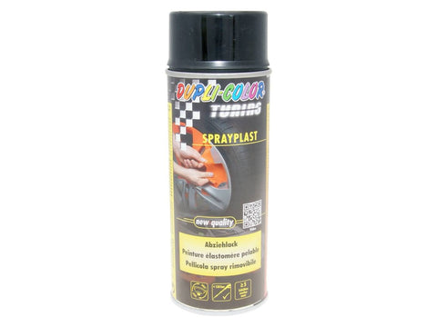 strippable lacquer Dupli-Color Sprayplast black glossy 400ml