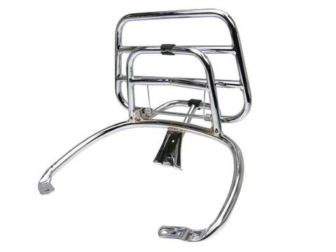 rear luggage rack folding chrome for Vespa Primavera