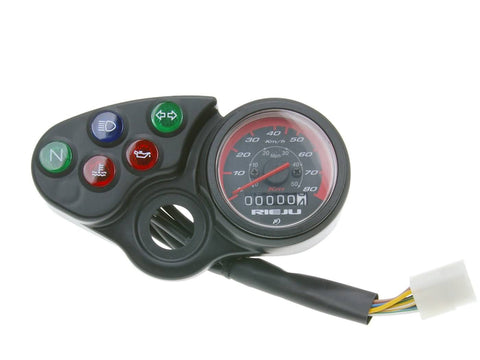 speedometer for Rieju RR 50 98-05, Spike 98-05