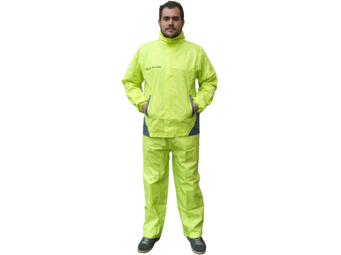 rain suit S-Line yellow 2-piece - size L