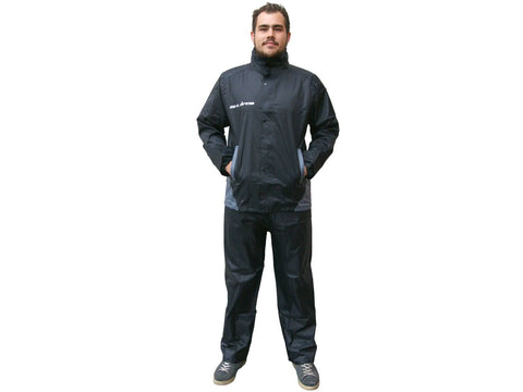 rain suit S-Line black 2-piece - size M