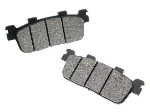 brake pads organic for Kymco K-XCT, People GT, S, X-Citing, New Downtown