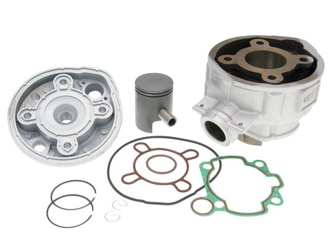 cylinder kit with head 50cc for , Generic Trigger, KSR-Moto, Keeway, Motobi, Ride, 1E40MA, 1E40MB