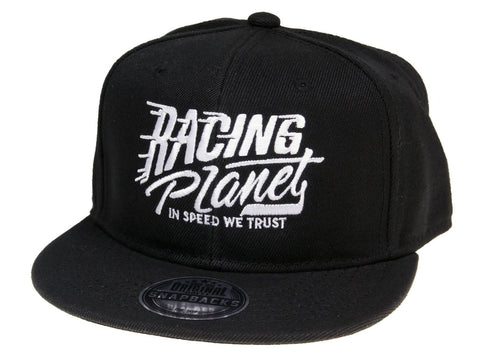 Racing Planet Snapback Hat / Snapback Cap black unisize