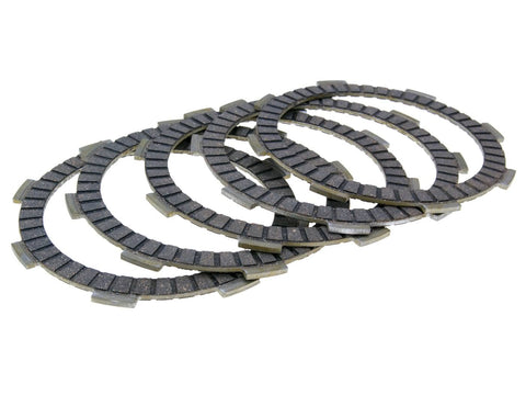 clutch disc / friction plate set EBC for Yamaha YZF-R 125, WR125R, YI-3 engine