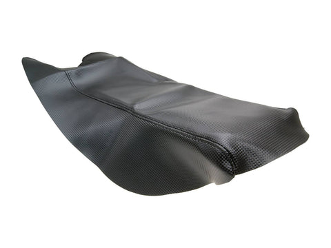 seat cover carbon look for Derbi Senda X-Treme, Race