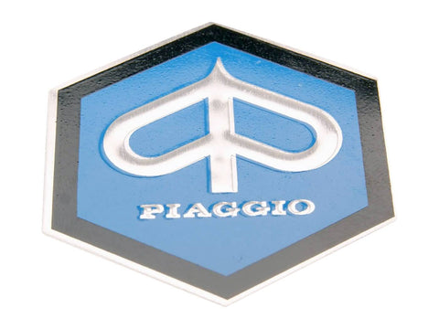 horn cover emblem / badge Piaggio 42mm flat to glue for Piaggio Ape, Vespa Gl, Rally