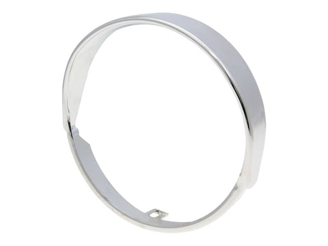 headlamp rim 135mm chromed for Vespa PK XL