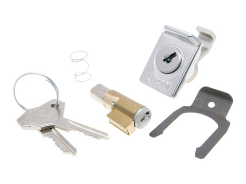 steering lock and glove box lock set 6mm for Vespa 50, 125