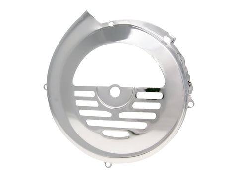 fan cover polished stainless steel for Vespa PK 50-125, V50, Primavera 125 ET3, Ape 50