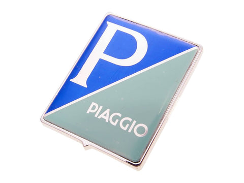 emblem / badge Piaggio to plug for Piaggio Ape 07-12, Vespa 1999-