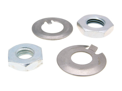 clutch nut lock washer set for LML 2T, Piaggio Ape, Vespa PK, PX, Primavera 50-125, ET3, PK