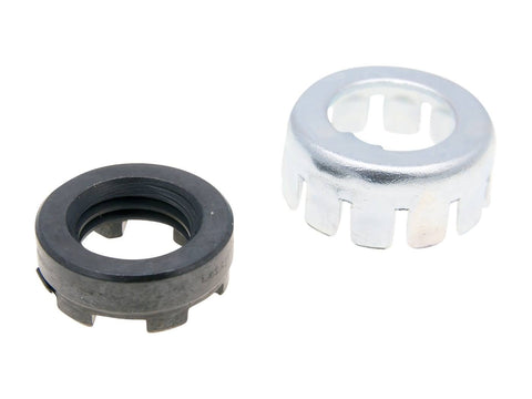 clutch lock nut / clutch castle nut set for LML, Vespa PX, PE