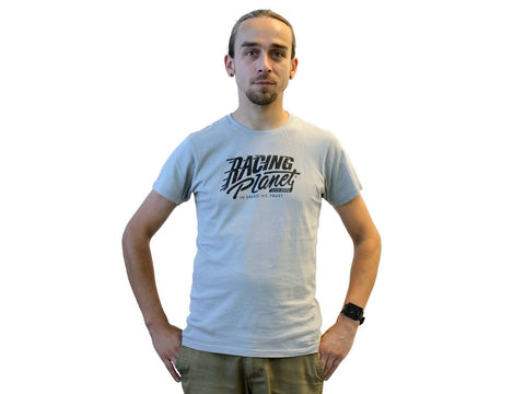 T-shirt Racing Planet grey / black size S