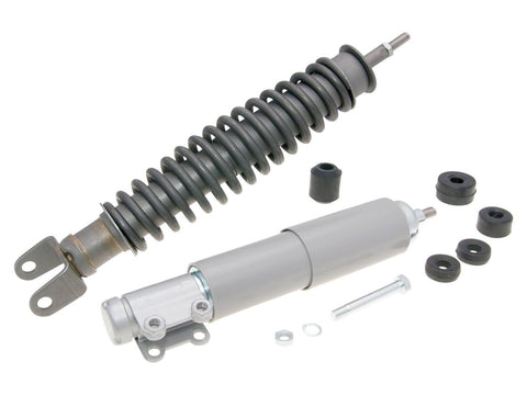 shock absorber kit front & rear phosphatized grey for Vespa PK 125, PK 125 XL