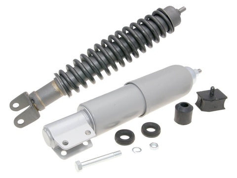 shock absorber kit front & rear phosphatized grey for Vespa PX, PE 125, 150, 200