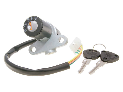ignition switch / ignition lock 4-pole for Rieju MRT 2012-