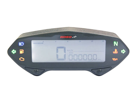 multifunctional speedometer Koso DB-01RN with E-mark