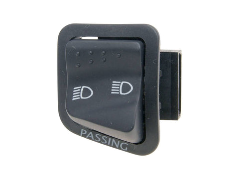 light switch high / low beam for Aprilia, Derbi, Gilera, Piaggio