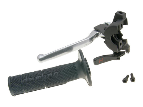 clutch lever fitting w/ choke and grip for Rieju MRT, MRX, SMX, Tango 50