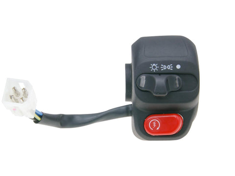 right-hand switch assy for E-starter, w/ light switch for MBK Skyliner 125, Yamaha Majesty 125 01-02