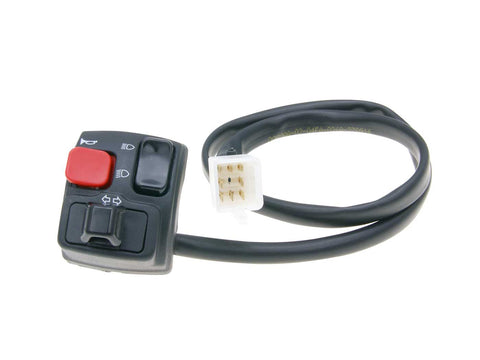 left-hand switch assy indicator, high / low beam, horn for Rieju SMX, MRX, RR, RS2, Spike