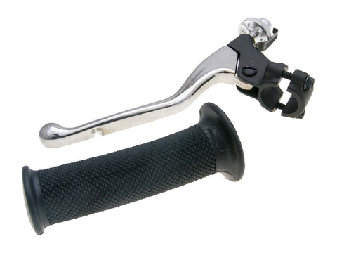 clutch lever fitting w/ grip for Derbi Senda R, SM