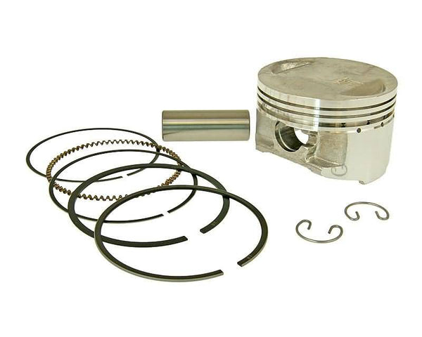 piston kit Airsal sport 163.4cc 60mm for 157QMJ, GY6 150cc