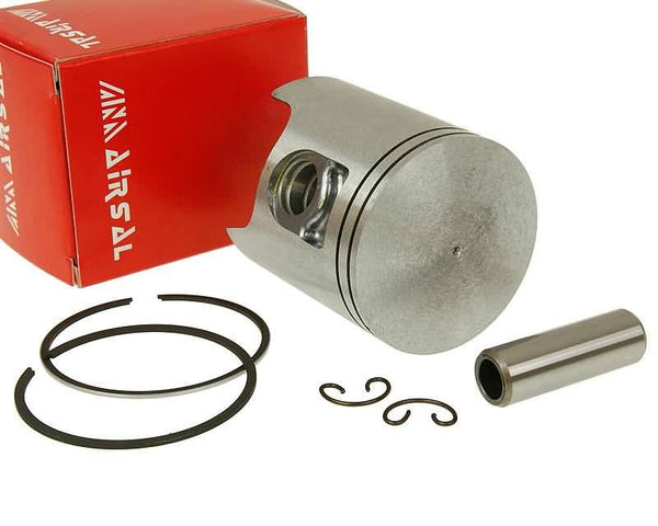 piston kit Airsal T6 Tech-Piston 69.7cc 47.6mm for Peugeot vertical AC