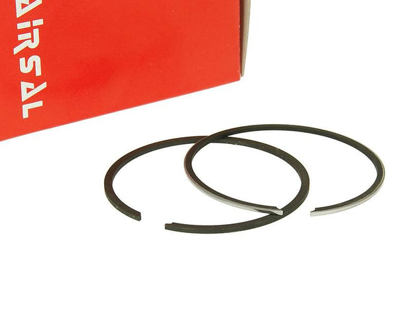 piston ring set Airsal Tech-Piston 69.5cc 47.6mm for Peugeot vertical LC