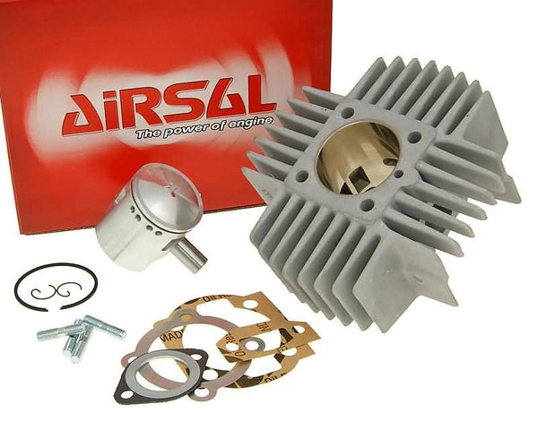 cylinder kit Airsal racing 68.4cc 45mm for Puch Maxi (new generation)