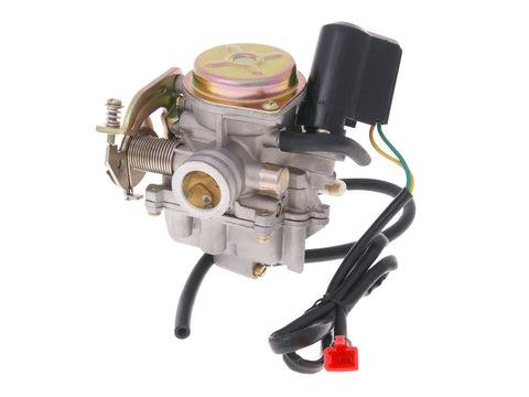 carburetor w/ metal cover & choke for 139QMB/QMA 4-stroke