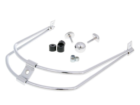 front bumper / trim Buzzetti chromed for Honda SH 125, 150cc