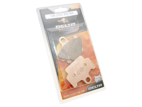 brake pads Delta Braking sintered DB2167RDN