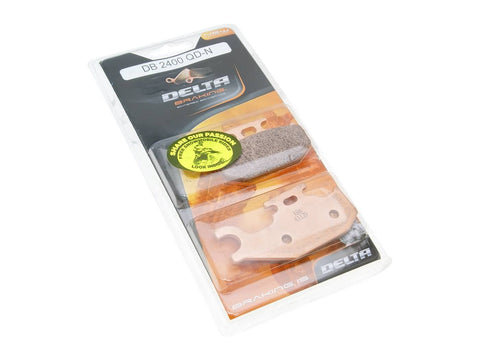 brake pads Delta Braking sintered DB2400QDN