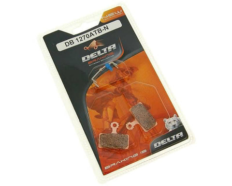 brake pads Delta Braking sintered for Shimano XTR 2011, XT, SLX