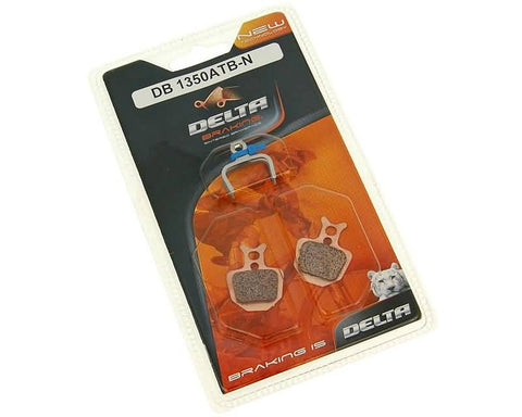 brake pads Delta Braking sintered for Formula ORO